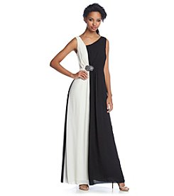 Nine West® Asymmetrical Gown