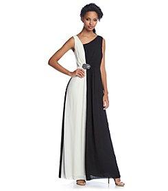 Nine West® Asymmetrical Gown