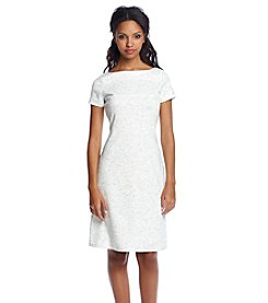 Ivanka Trump® Paneled Fit And Flare Dress