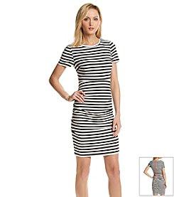 Vince Camuto® Striped T-Shirt Dress