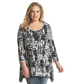 Jones New York Sport® Plus Size Tie Dye Tunic