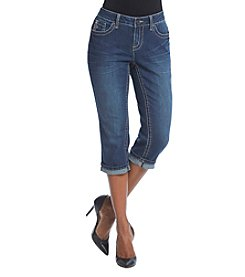 Earl Jean® Petites' Stitch Patch Pocket Capri