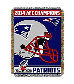 New England Patriots AFC Champions Tapestry Throw