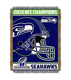 Seattle Seahawks NFC Champions Tapestry Throw