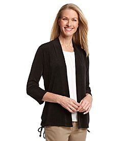 Laura Ashley® Trip Ready Tie Side Cardigan