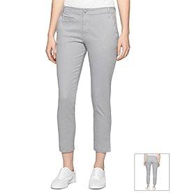 Calvin Klein Jeans® Straight Leg Crop Pant
