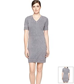 Calvin Klein Jeans® V-Neck Dress