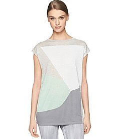 Calvin Klein Jeans® Boatneck Colorblock Tee