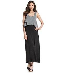 Chelsea & Theodore® Contrast Stripe Maxi Dress