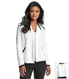 Jones New York Signature® Open Front Cardigan