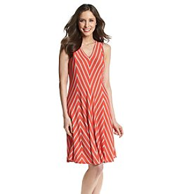 Chelsea & Theodore® Chevron Tank Dress