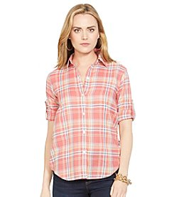 Lauren Jeans Co.® Plaid Cotton Shirt