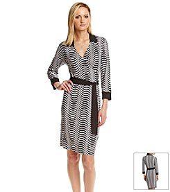 Jones New York Signature® Faux Wrap Dress