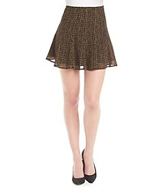 MICHAEL Michael Kors® Short Printed Flared Skirt