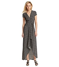 MICHAEL Michael Kors® Cap Sleeve Wrap Dress