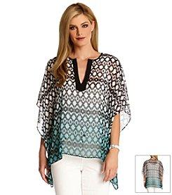 Karen Kane® Dip-Dye Print Tunic