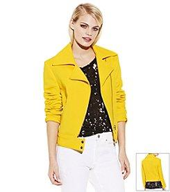 Vince Camuto® Asymmetric Scuba Jacket