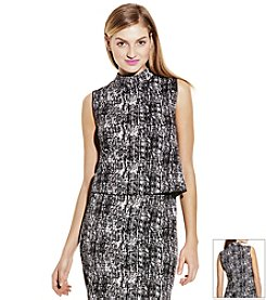Vince Camuto® Texture Etching Top