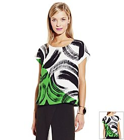 Vince Camuto® Artful Strokes Blouse
