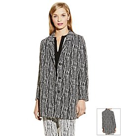 Vince Camuto® Linear Scratches Jacket