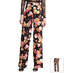 Robert Rodriguez® Floral Wide Leg Pants