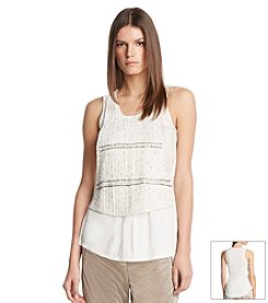 Robert Rodriguez® Embellished Tank Top