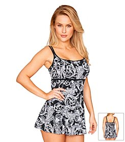 Longitude® Royal Scroll Swimdress