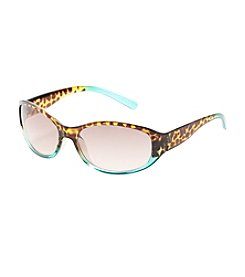 Relativity® Oval with Tortoise to Ombre Frame Sunglasses