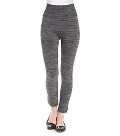 One 5 One® Heathered Plush Lined Leggings