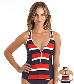 Nautica® Safe Haven Tankini Top