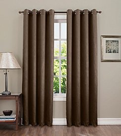 Sun Zero™ Redding Crushed Grommet Room Darkening Window Curtain