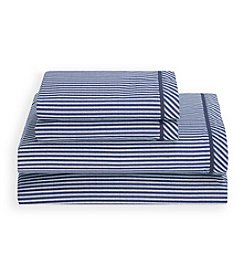Tommy Hilfiger® Navy Cornwall Sheet Set