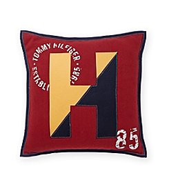 Tommy Hilfiger® Applique Logo Pillow