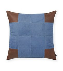 Tommy Hilfiger® Pieced Leather Pillow