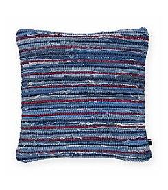 Tommy Hilfiger® Rag Rug Denim Pillow