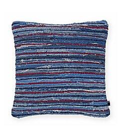 Tommy Hilfiger® Rag Rug Denim Pillow