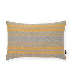 Tommy Hilfiger® Woven Grey Stripe Dijon Pillow