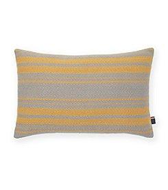 Tommy Hilfiger® Woven Grey Stripe Dijon Pillow