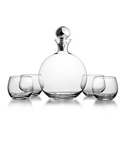 Fitz and Floyd® Winston 5-pc. Wine or Whiskey Set