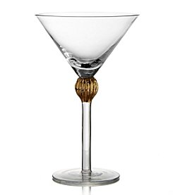 Fitz and Floyd® Gold Medley Set of 4 Martini Glasses