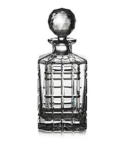 Fitz and Floyd® Plaid Square Decanter