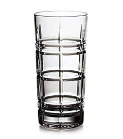 Fitz and Floyd® Plaid Set of 4 Highball Glasses
