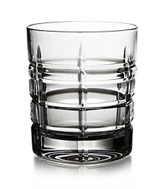 Fitz and Floyd® Plaid Set of 4 Double Old Fashioned Glasses