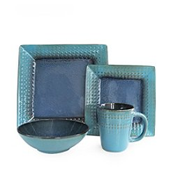 American Atelier Cantabria Blue 16-pc. Dinnerware Set
