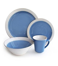 American Atelier Ashbury Blue 16-pc. Dinnerware Set