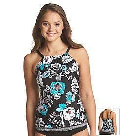 24th & Ocean® Hanalei High Neck Tankini Top