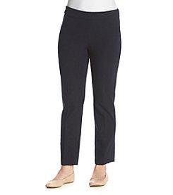 Rafaella® Contrast Zip Pant