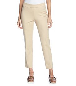 Rafaella® Comfort Waist Side Zip Pants