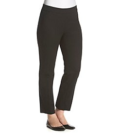 Rafaella® Contrast Zip Pants