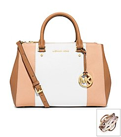 MICHAEL Michael Kors® Sutton Center Stripe Medium Satchel